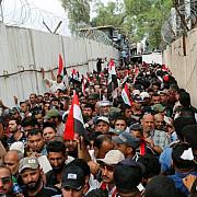 orasul bagdad se afla sub stricta securitate dupa ocuparea parlamentului de catre manifestanti