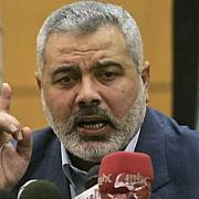 liderul miscarii hamas anunta ca organizatia va reactiona la incursiunile israelului in fasia gaza
