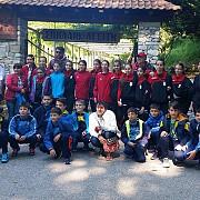 junioare iv csm ploiesti cea mai buna echipa de la prosotsani spring handball camp