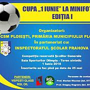 csm ploiesti organizeaza cupa 1 iunie la minifotbal