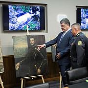 17 tablouri furate de moldoveni au fost recuperate in ucraina