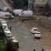 deflagratie puternica in timp ce militanti pkk incarcau explozibili intr-un camion