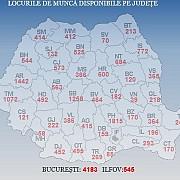 peste 22100 de locuri de munca la nivel national cele mai multe sunt in bucuresti prahova si arad