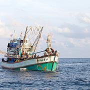 pescador din turcia prins la braconaj in marea neagra la bord s-au gasit peste 230 de kilograme de calcan