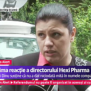 directorul hexi pharma flori dinu audiata la dna