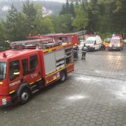 incendiu la un hotel din predeal 120 de turisti au fost evacuati