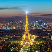 turnul eiffel va fi iluminat din 10 iunie in fiecare seara in culorile participantelor la euro