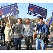 moldova este impartita in doua pro europa sau pro rusia