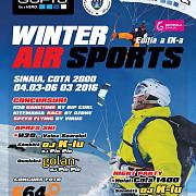 winter air sport zbor deasupra muntilor intre 4 si 6 martie la sinaia