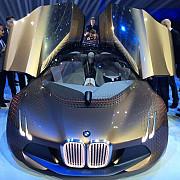 bmw a prezentat masina viitorului la aniversarea centenarului