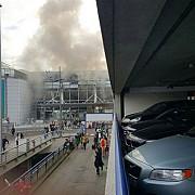 explozii puternice pe aeroportul din bruxelles video