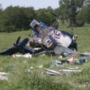 un elicopter medical s-a prabusit in sua cu pacientul la bord