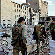 armata siriana a intrat in palmira