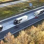 mercedes a testat cu succes camioane autonome in trafic