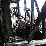 exclusiv cum arata apartamentele arse pe str infratirii din ploiesti