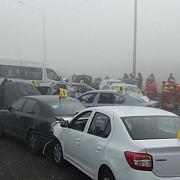 cel mai grav accident produs pe o autostrada din romania patru oameni au decedat 56 au fost raniti