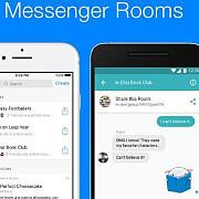 facebook lanseaza rooms grupuri publice de discutii pentru facebook messenger