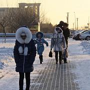 kazahstanul e paralizat de frig temperaturi cu 30 de grade mai mici decat in mod normal la astana