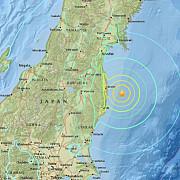 cutremur puternic in japonia doua valuri tsunami au lovit coasta in zona prefecturii fukushima