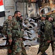 armata siriana a recucerit toate cartierele din nord-estul orasului alep