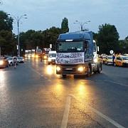 transportatorii acuza ca politia vaneaza soferii participanti la mitingul anti-rca