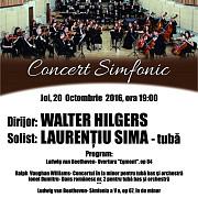 e joi mergi la concertul simfonic al filarmonicii paul constantinescu din ploiesti