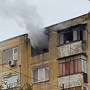 video cu incendiul produs aseara pe strada cibinului din ploiesti