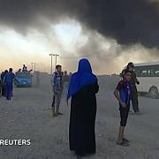 militantii statului islamic au incendiat o uzina chimica cel putin 1000 de oameni intoxicati