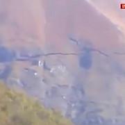 gaura intr-un munte in urma cutremurului din italia video