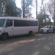 prahova un microbuz de transport calatori a fost implicat intr-un accident la dumbravesti