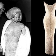 rochia pe care marilyn monroe a purtat-o cand i-a cantat la multi ani lui kennedy scoasa la licitatie