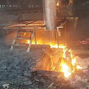 valcea incendiu la o fabrica de cherestea
