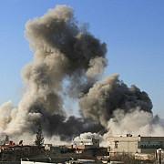 haos in siria avioane ale coalitiei au bombardat o baza a armatei siriene