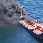un petrolier a luat foc in golful mexic