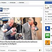 daily mail despre vizita mostenitorului tronului britanic in romania printul charles a incalcat protocolul regal imbratisand un baiat in budapesta