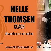 daneza helle thomsen noul antrenor al campioanei la handbal feminin csm bucuresti