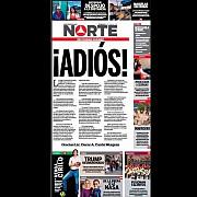 un ziar mexican isi inceteaza aparitia din cauza asasinatelor comise asupra jurnalistilor