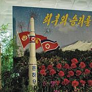 coreea de nord a testat o racheta care a explodat imediat dupa lansare