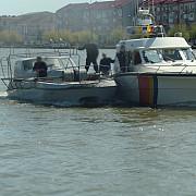 nava din ucraina aflata la braconat in apropiere de sfantu gheorghe prinsa de garda de coasta