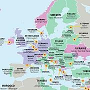 harta obiectivelor turistice din intreaga lume care este cea mai importanta atractie din romania in opinia turistilor
