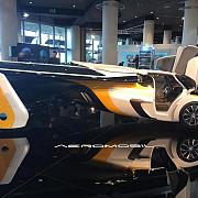 un automobil zburator care costa peste 12 milioane de dolari prezentat in premiera la monaco