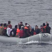 peste 50 de persoane dintre care 13 copii salvate de politistii de frontiera romani in marea egee