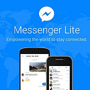 aplicatia messenger lite disponibila oficial si in romania