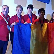 doua medalii de aur si o medalie de argint obtinute de elevii romani la olimpiada internationala de geografie