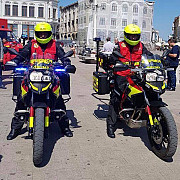 isu dobrogea dotat cu doua motociclete smurd pentru interventii de urgenta