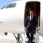 presedintele francez emmanuel macron viziteaza astazi romania