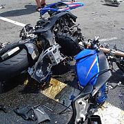 un motociclist a murit intr-un accident pe centura bucuresti