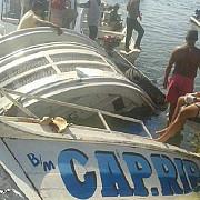cel putin sapte persoane au murit si cateva zeci sunt date disparute dupa ce un vas s-a scufundat in brazilia
