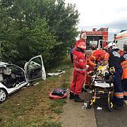 traficul a fost reluat pe dn1 la romanesti imagini de la locul accidentului