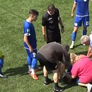 fotbalist roman la un pas de moarte pe teren ambulanta nu avea medic